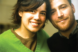 Flickr founders Stewart Butterfield and wife Caterina Fake