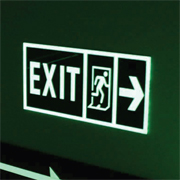 Glowing Exit