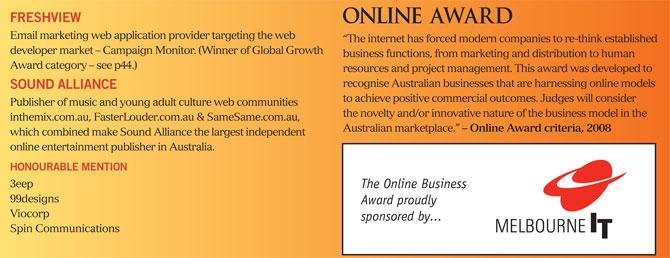 online awards