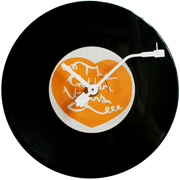 Vinyl Wall Clocks