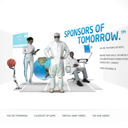 "Website of the Week: Intel sponsors... ""Tomorrow"""