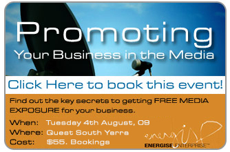 Two Media Events To Energise Your Business