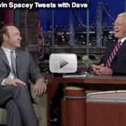 Spacey coaches Letterman on 'The Twitter'