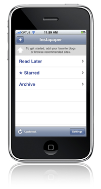 iphone, instapaper, iphone apps, michelle matthews