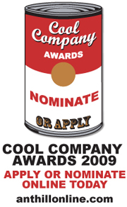 Cool Company Awards Deadline Extended One Week!