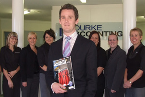 Matthew Bourke, The Bourke Group, 30under30, Anthill