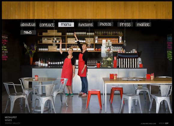 red shed cafe, Medhurst Wines, Australian Anthill