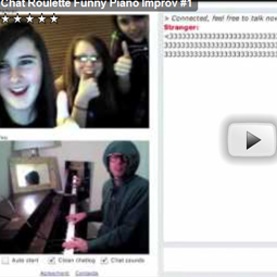 Piano Improv Guy puts ChatRoulette in a spin