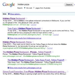 Hidden Pizza Restaurant reveals not-so-hidden flaws in Yellow Pages&#039; digital strategy