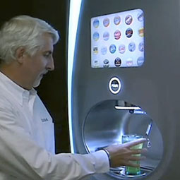 New Coca-Cola fountain mixes 100 different drinks on the spot