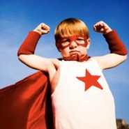 superhero empower kid