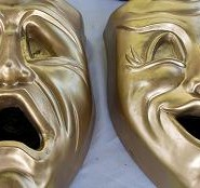 tragedy theatre masks