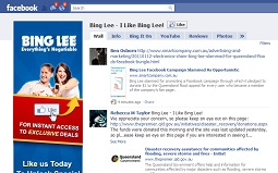 Bing Lee&#039;s Facebook flood pledge: Brilliant or worth a bollocking? What do you think?