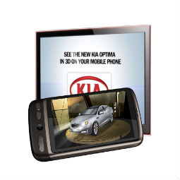 Reality goes mobile with new augmented app to promote KIA at the Australian Open