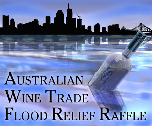 Wine industry donates finest drops for flood relief