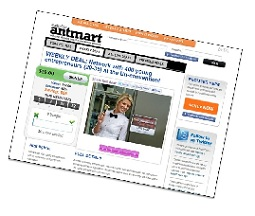 Anthill launches its own group buying 'deals' website... Antmart!