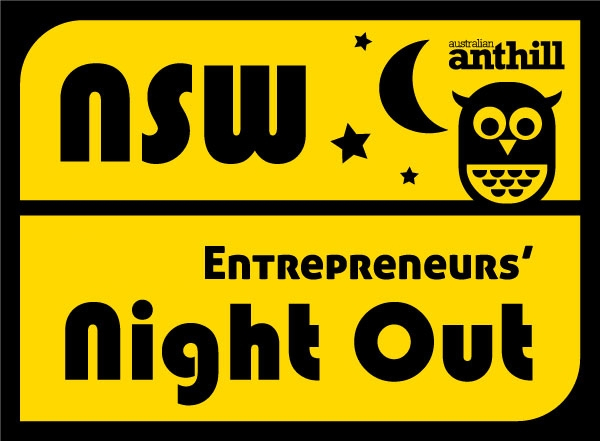 Entrepreneur's Night Out Sydney. It's next Tuesday!