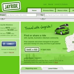 Jayride carpool marketplace (SMART 100)