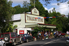 Australians may be thinking globally, but they are shopping locally.