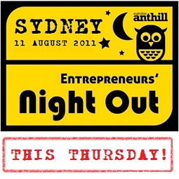 Entrepreneurs Night Out [Sydney]: Share a drink. Have a laugh. Gain insights from mover and shaper Ruslan Kogan!