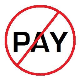 No Paying