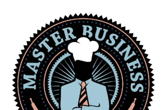 MASTER BUSINESS BAKE UP BADGE