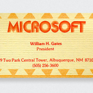 Microsoft-Bill-Gates-Business-Card