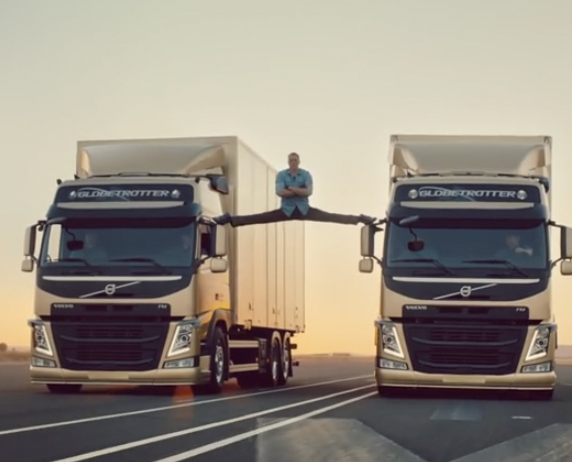 What's more awesome? Volvo Trucks or Jean Claude Van Damme? It's a