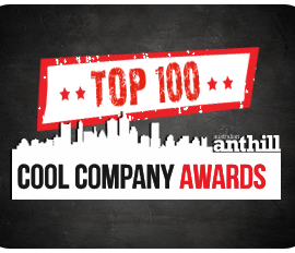 cool Company Awards Top 100 Badge 2013