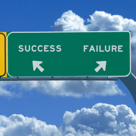 two roads success failure