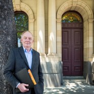 President and Vice Chancellor Professor Fred McDougall outside Torrens University