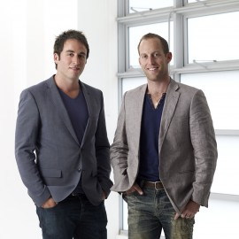 L-R; Jason Levin, Marc Levin