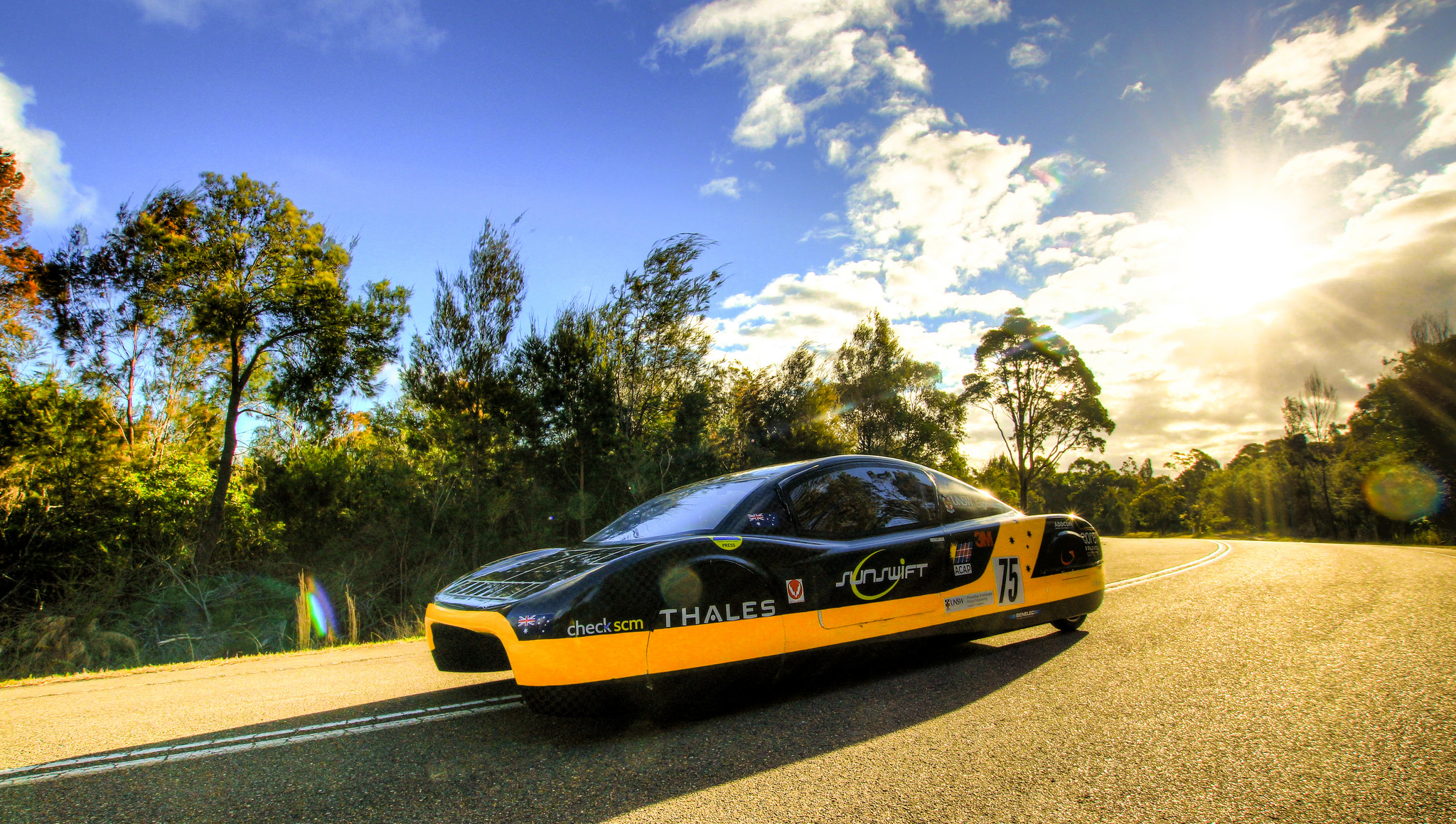 Will this be Australia\'s first road-legal solar-powered sports car?