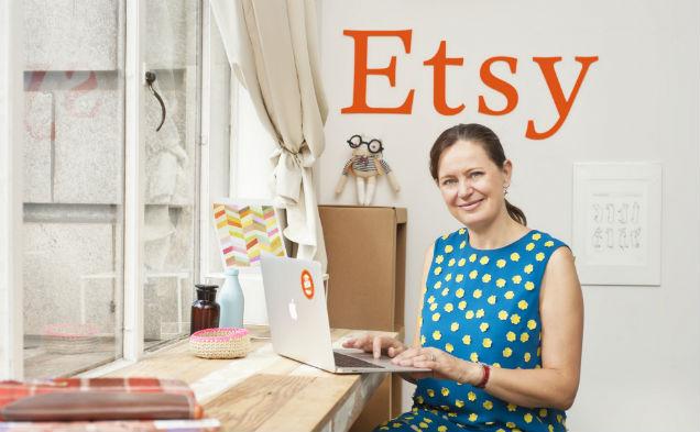 Helen Souness, Etsy