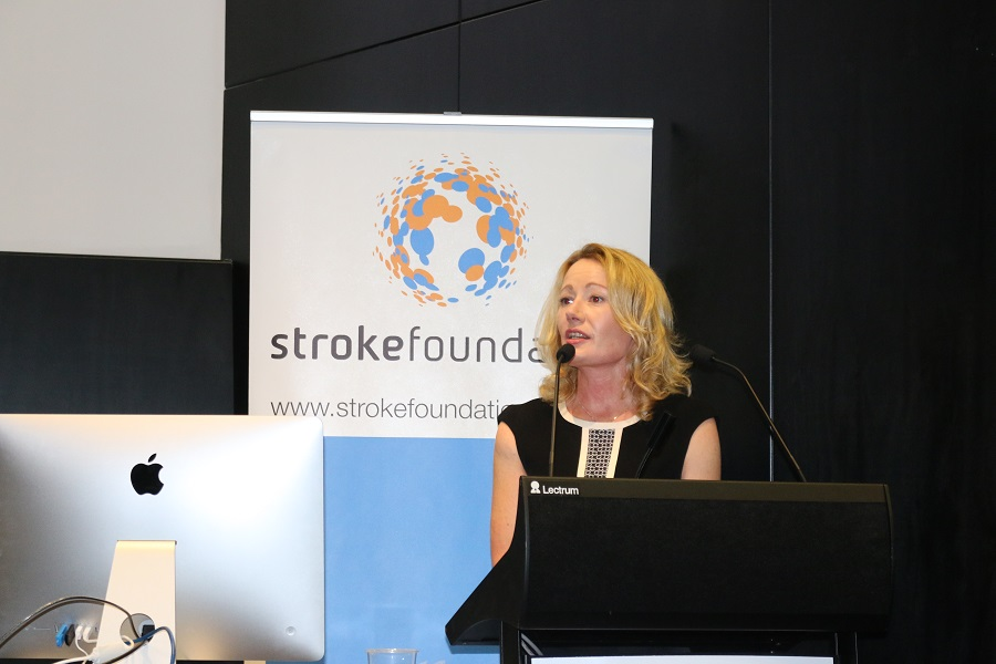 Stroke Foundation Chief Executive Officer Sharon McGowan