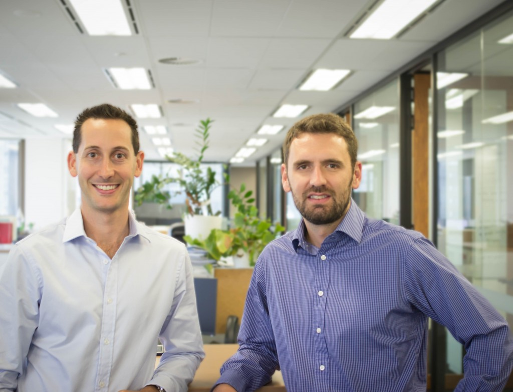 SME Credit Score co-founders James Watson and Jonathan Raymond
