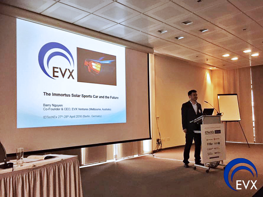 Barry Nguyen presents at the IdTech Show in Berlin, April 2016