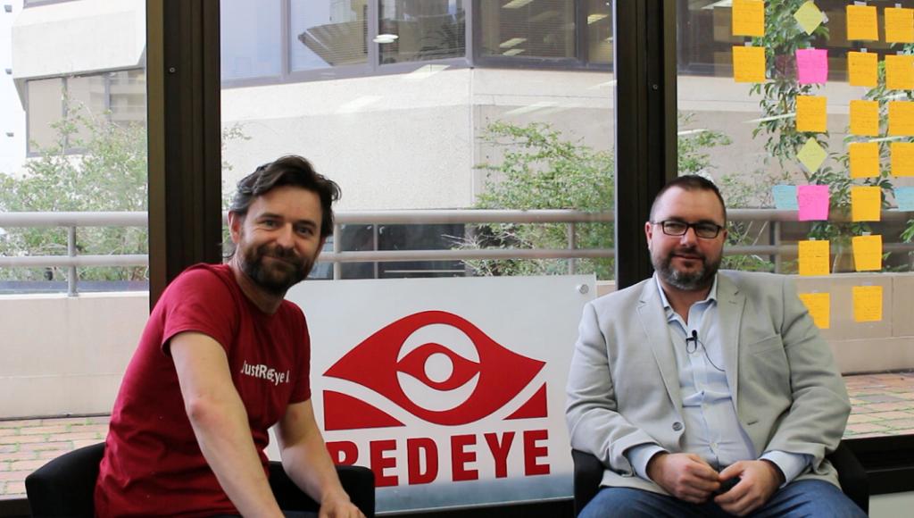RedEye cofounders Randall Makin (L) and Wayne Gerard (R)