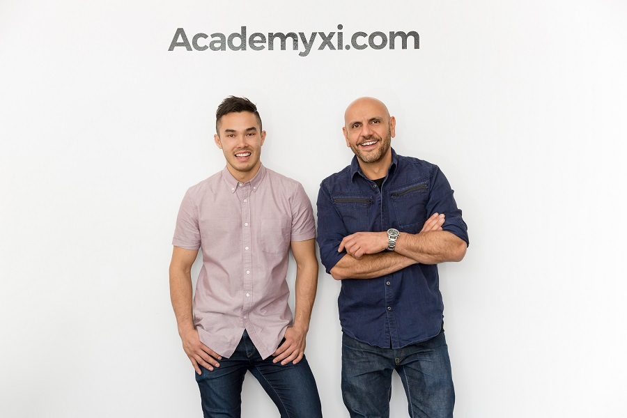 Academy Xi co-founders Ben Wong and Charbel Zeaiter