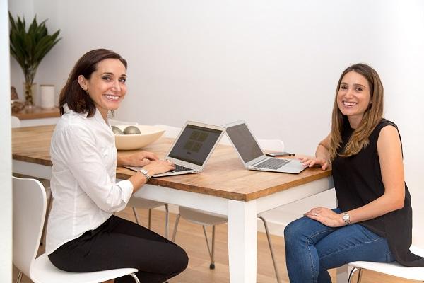 Marissa Sandler and Lauren Hockley