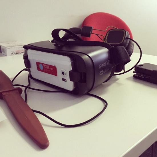 Paramedics VR headset