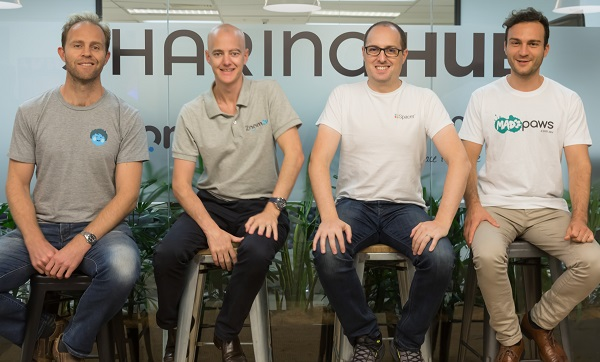 Sharing Hub cofounders
