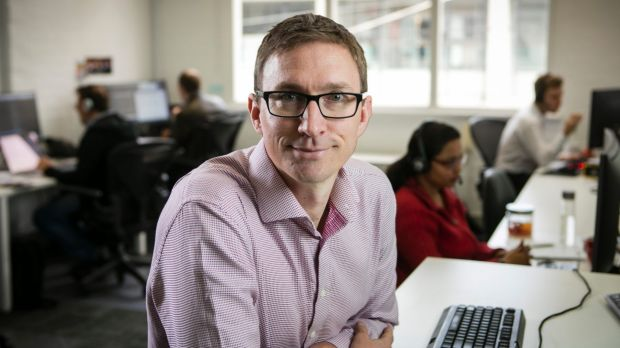 Jeff McAlister, CEO of TryBooking