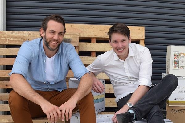 Wine Gallery cofounders Tom Walenkamp and Banjo