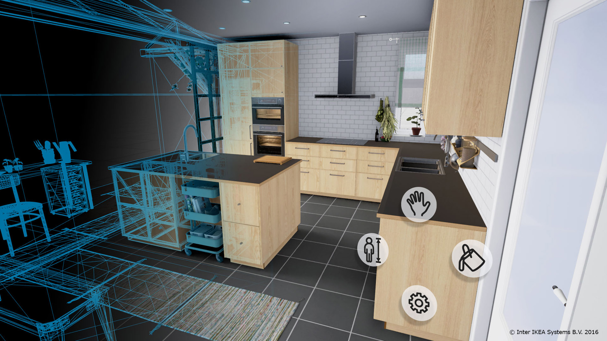 Interior design advances with virtual reality technology for Interactive interior design