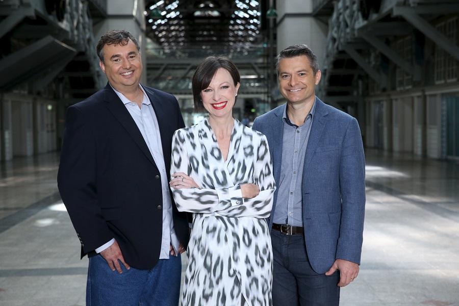 Slingshot Cofounder Craig Lambert, CEO Karen Lawson, Cofounder Trent Bagnall