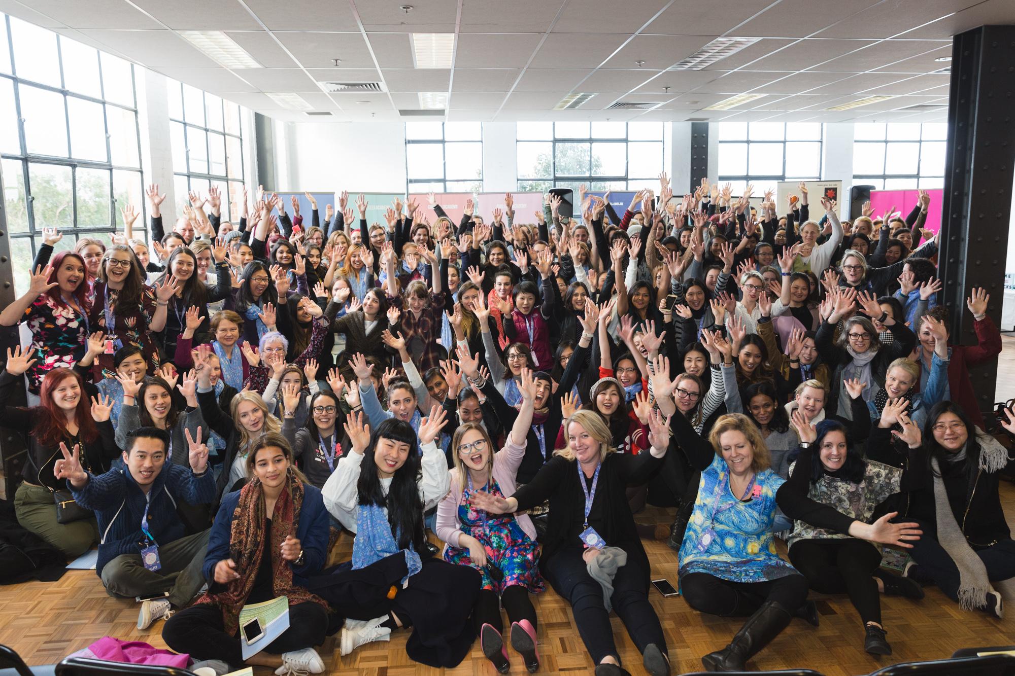 Girl Geek Academy's #SheHacks participants 2017