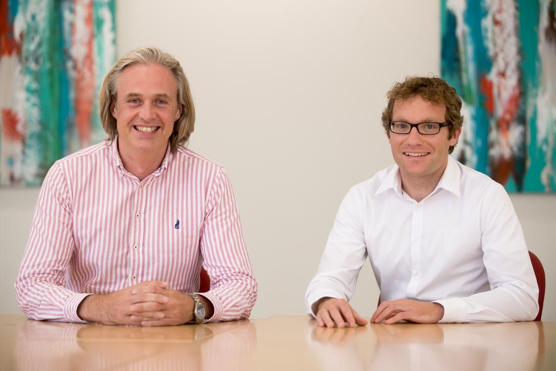 Martin McCann and Mathias Born