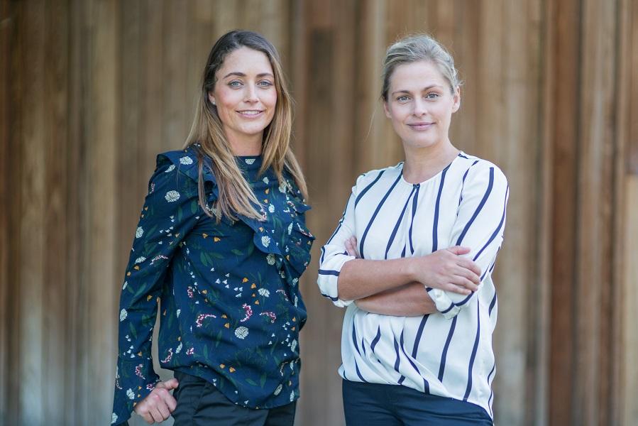 Heidi Holmes and Lucy Lloyd