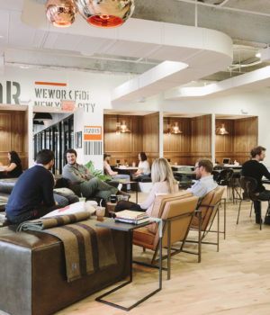 How WeWork is going about creating a work community that